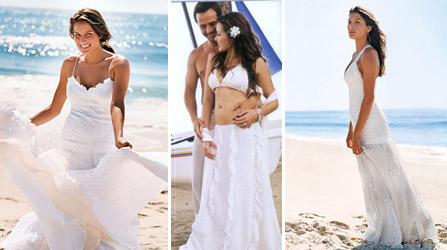 Wedding Dress Shopping on How Much Will A Beach Wedding Gown Cost Me