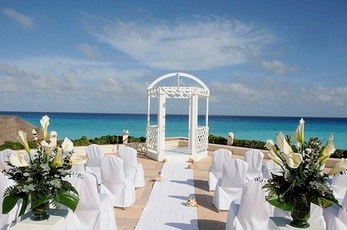 Omni Cancun Hotel Villas Beach Wedding Pasted Graphic 5