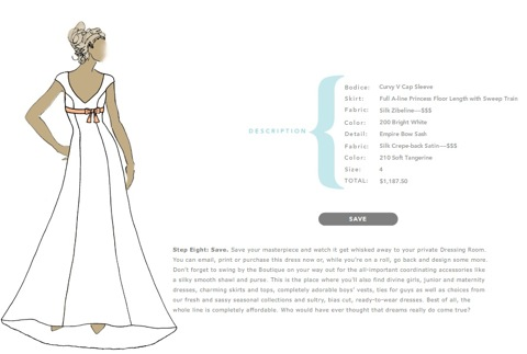 Wedding Dress Designer Games on Design Your Own Wedding Dress