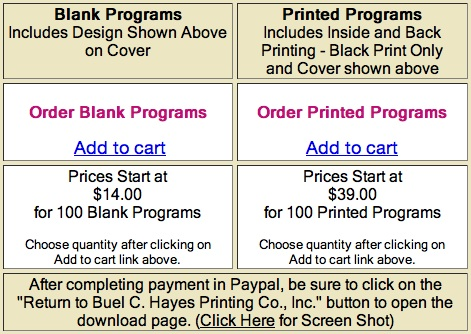 Phenomenal pricing if you consider that even the cheapest wedding program