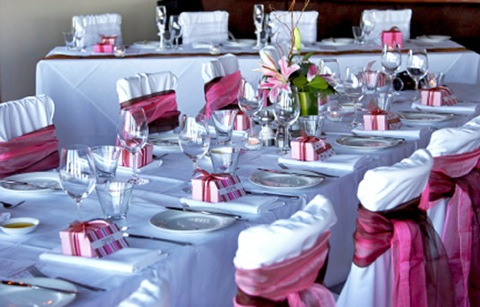 Take Home Wedding Reception Tips